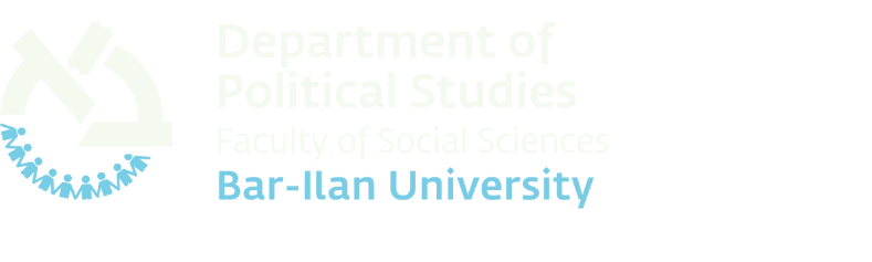 Department of Political Studies Bar-Ilan University